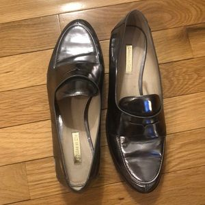 Louise Et Cie Metallic Loafers